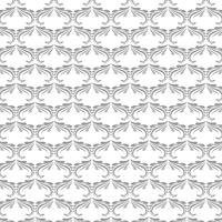 Beautiful decorative gray floral pattern background