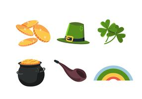St Patrick's Day Clipart Set vector
