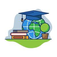 Global Education Vector
