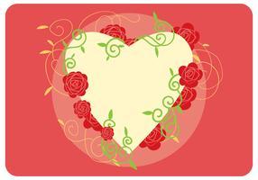 Valentine's Day Frame Vector