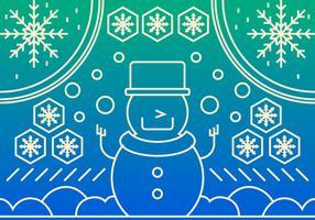 Fantastiska Sapporo Snow Festival vektorer
