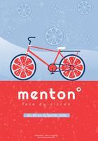 Menton France Lemon Festival Vector Design