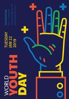 World Youth Day Vector Design