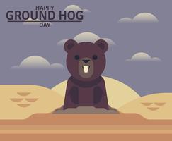 Ground Day Day Illustration