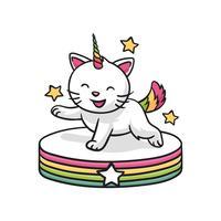 Cat Wannabe Unicorn