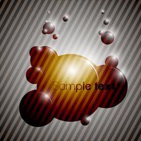Vecteur de fond coloré bulle eps10