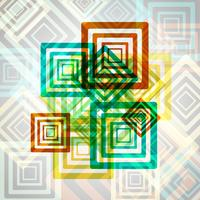 Eps10 coloré abstrait