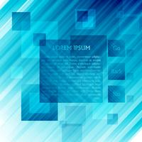 Blue vector template for web, vector