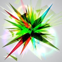 Explosion-Vektor-Illustration