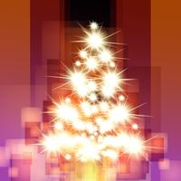 Weihnachtsvektorbaum