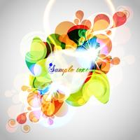 Abstract background colorful template