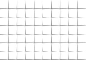 White Square Repetition Background Vector