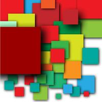 Colorful empty squares