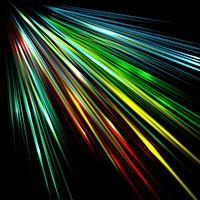 Färgrik zoomning effekt, vektor