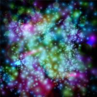 Stjärnor på svart eps10 vektor