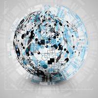 Earth globe vectorillustratie voor reclame