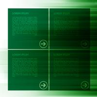 Green vector template for web, vector