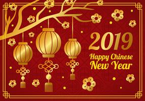 Chinese New Year Illustration vector