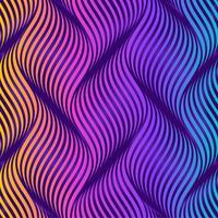 Fond coloré de vagues ondulantes