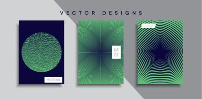 Mínimo Vector desenhos de capa. Modelo de poster futuro