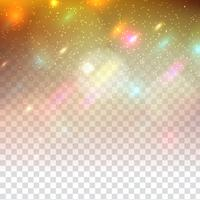 Abstract sparkling glitter modern design on transparent background