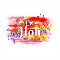 Abstract Happy Holi background
