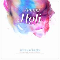 Abstrait Happy Holi