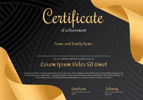 Certificate Vector Design