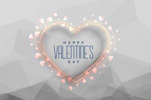 Happy Valentinstag Feier Gruß Hintergrund