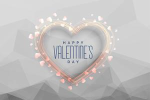 happy valentines day celebration greeting background