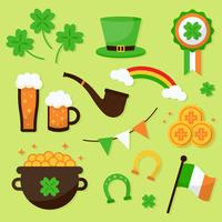 St Patrick's Day Element collectie Vector
