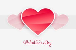 valentines day pink hearts background