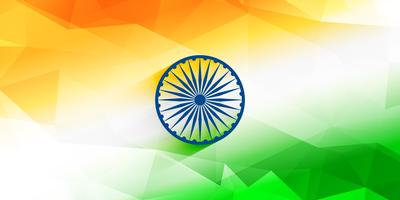 abstract indian flag background design