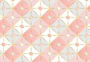 Geometrica Rose Gold Square Pattern Background