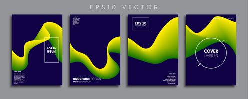 Minimal Vector cover designs. Future Poster template.