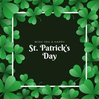 St. Patrick's Day Template Design Banner vector
