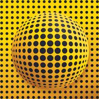 Abstract Globe Dotted Vector Design