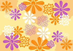 Awesome Flower Background Vectors