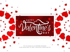Happy Valentine's Day romantic background