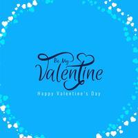 Happy Valentine's day elegant background design