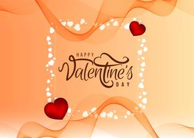 Beautiful Happy Valentine's Day love background