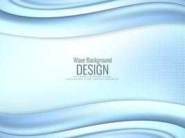 Abstract stylish wavy background