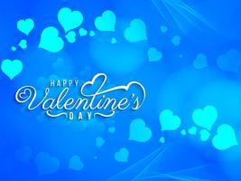 Abstrakt Glad Valentinsdag vacker kortdesign