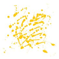 Abstrato amarelo aquarela splatter design de fundo