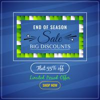 Abstract big sale advertising background