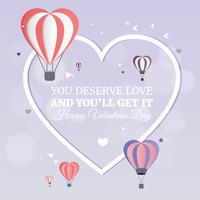 Vector Valentine's Day Greeting Card