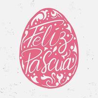Feliz Pascua Typography