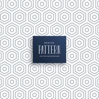 subtle hexagonal lines pattern background