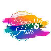 gelukkige holi festival van kleuren viering achtergrond