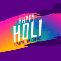 indian happy holi festival greeting background